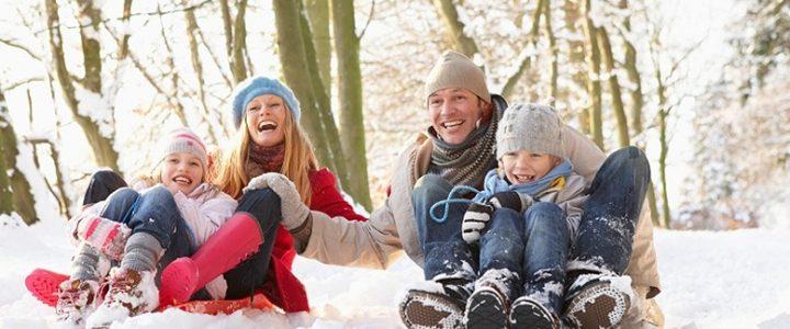 10 вещей, которые обязательно нужно сделать с ребенком на зимних каникулах